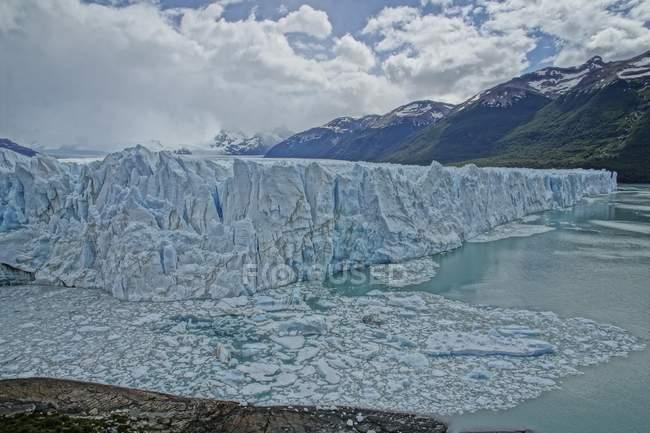 Perito Moreno Glacier in Los Glaciares National Park, Patagonia, Argentina — Stock Photo
