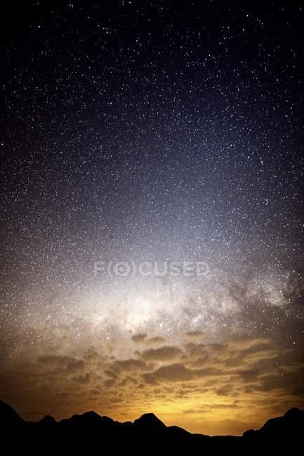 Южный звездное небо, Каньон Блайд Ривер, Мпумаланга, Южная Африка, Африка — стоковое фото
