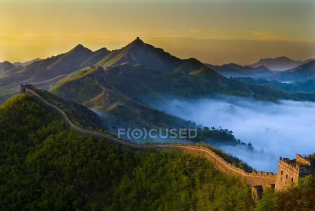 Zhengguan Mountain, Great Wall of China, Qinhuangdao, Hebei Province, China, Asia — Stock Photo