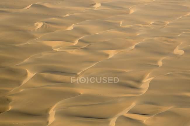 Aerial view of dune pattern of sand in Namib Desert, Namib-Naukluft National Park, Namibia — Stock Photo