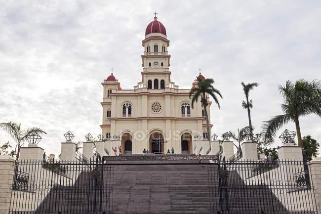 Pilgrimage church in Santiago de Cuba, Santiago de Cuba Province, Cuba, Central America — Stock Photo