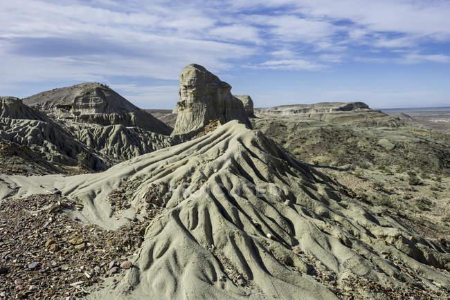 Petrified forest di Bosque Petrificado National Monument, Sarmiento, Chubut, Argentina, Sud America — Foto stock