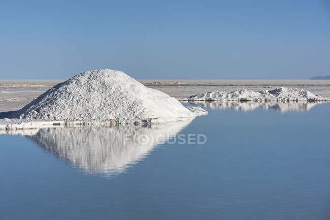 Salar de Uyuni Salzsee im Altiplano in Bolivien Südamerika — Stockfoto