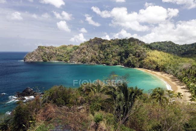 Bloody bay of Trinidad and Tobago, North America — Stock Photo