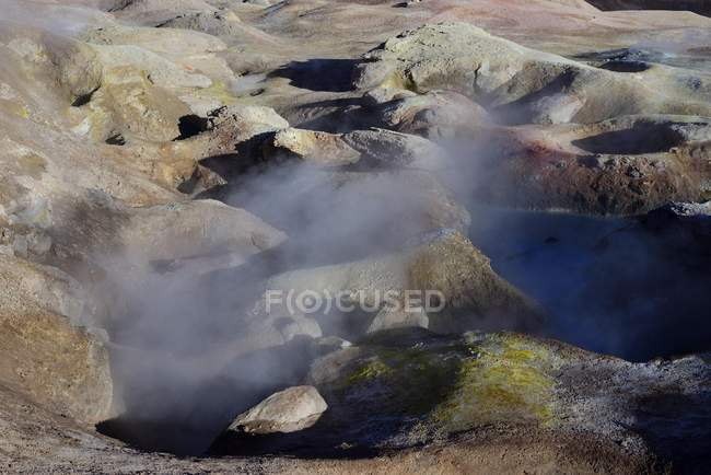 Sol de Manana geothermal field in Sur Lipez, Potosi, Bolivia, South America — Stock Photo