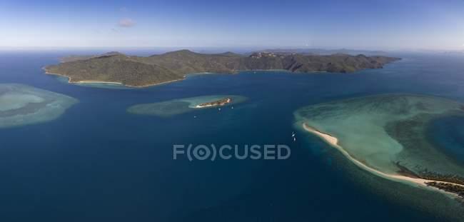 Langford Island and Hook Island, Whitsunday Islands, Queensland, Australia, Oceania — Stock Photo