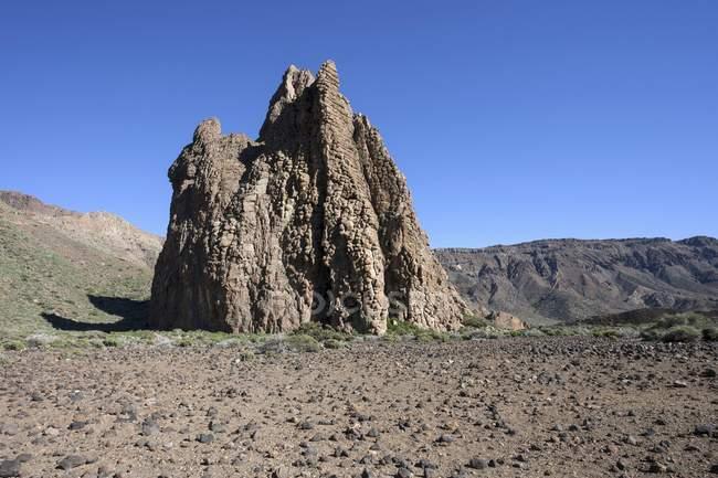 Rocky la Catedral dans le plateau de Llano Uruanca, parc national du Teide, site du patrimoine mondial de l'UNESCO, Tenerife, Espagne, Europe — Photo de stock
