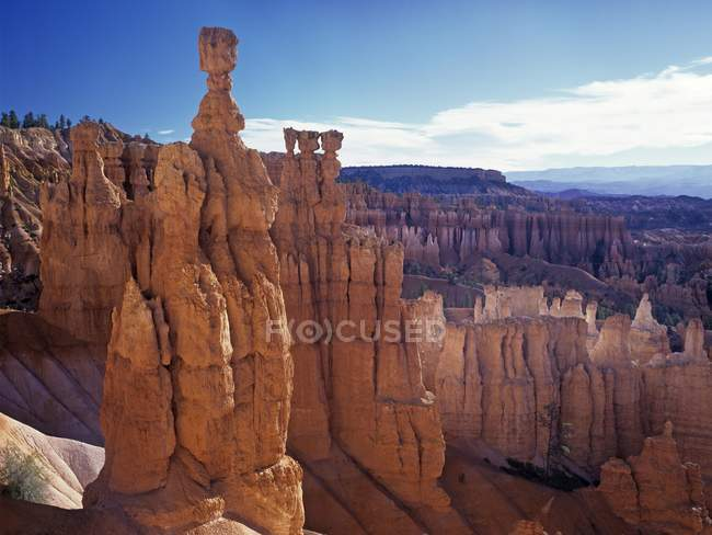 Thors Hammer at Navajo Loop Trail at Sunset Point, Bryce Canyon, Utah, USA, North America — Stock Photo
