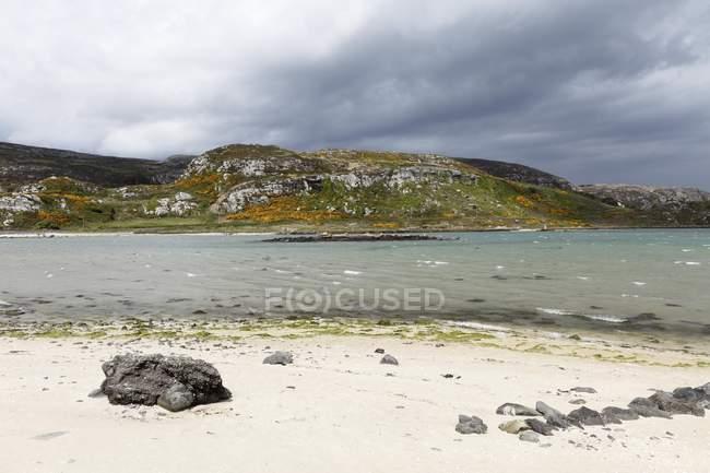 Sandy beach beach on Crookhaven Bay, Mizen Head Peninsula, West Cork, Republic of Ireland, British Isles, Europe — Stock Photo