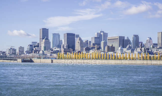 Kanadische Stadtbild im Sommer — Stockfoto