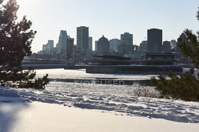 Stadt Montreal, Quebec, Kanada — Stockfoto