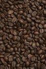 Grains de café plein cadre — Photo de stock