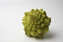 Romanesco cauliflower on white — Stock Photo
