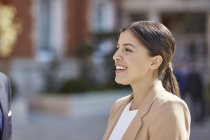 Geschäftsfrau schaut weg — Stockfoto