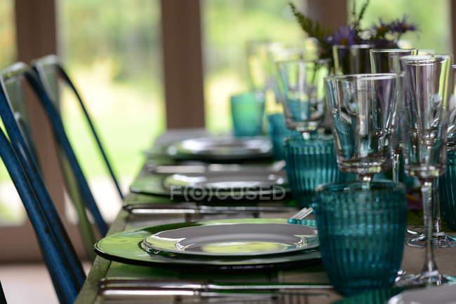 Місце встановлення на стіл — стокове фото