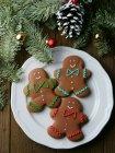 Різдвяне пряничне печиво. — стокове фото