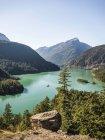 Вид на озеро Дьябло — стоковое фото