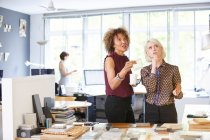 Two female interior designers — Stock Photo