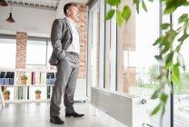 Full length businessman — Stock Photo