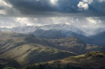 Landscape view from Arthurs Pike — Stock Photo