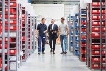 I gestori e magazziniere — Foto stock