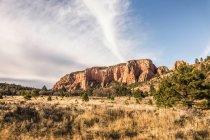Formação rochosa no Parque Nacional de Zion — Fotografia de Stock