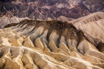 Zabriskie Point rock formation landscape — Stock Photo
