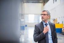 Серйозний бізнес-менеджер — стокове фото