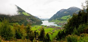 Scenic view of Lucerne — Stock Photo