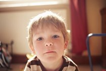 Portrait of boy looking at camera — Stock Photo