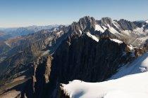 Vue de la scène de montagne — Photo de stock