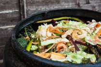 Домашний компост — стоковое фото