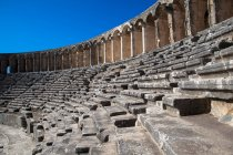View of Dilapidated steps of amphitheater — Stock Photo
