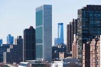 Здание ООН — стоковое фото