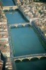 Ponte vecchio over Arno river, Florence, Italy — Stock Photo