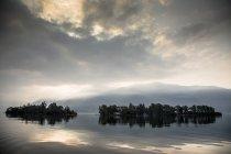 Brissago islas, lago Maggiore, Ascona, Ticino, Suiza - foto de stock