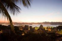 Río de Janeiro por la noche — Stock Photo