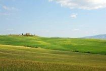 Paisagem rolante, Toscana — Fotografia de Stock