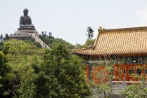 Tian tan buddha and po lin monastery — Stock Photo
