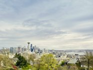 View of city from Kerry Park — Stock Photo