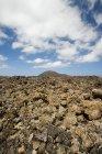 Volcanic landscape of Timanfaya National Park — Stock Photo