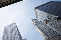 Chrysler building und hochhäuser, new york, usa — Stockfoto