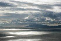 Paysage nuageux à l'île de Skye — Photo de stock