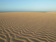Ripples in sand dunes — Stock Photo