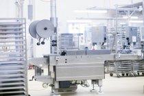 Внутренний вид оборудования для производства продуктов питания — стоковое фото