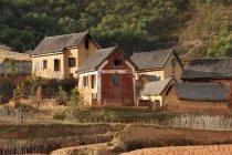 Authentiques maisons sur la colline, Antananarivo, Madagascar — Photo de stock