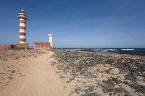 Toston маяк, Faro del Toston — стоковое фото