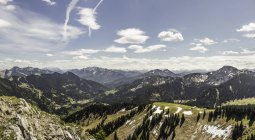View from Mt Wallberg, Bavaria, Germany — Stock Photo