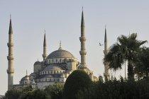 Cupola e minareti di Sultan Ahmed Mosque, Istanbul, Turchia — Foto stock
