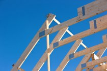 Roof under construction — Stock Photo